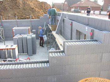 Icf insulated concrete forms for Insulated concrete form house